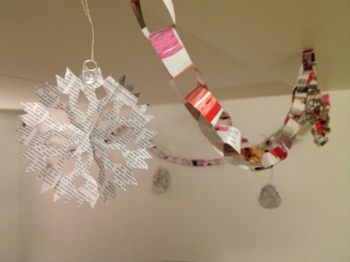 recycle christmas decorations