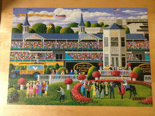 kentucky derby 1000 puzzle
