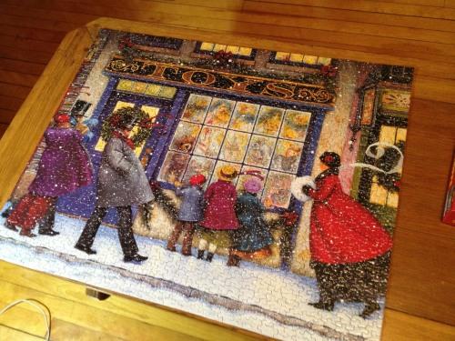 springbok christmas 1000 puzzle